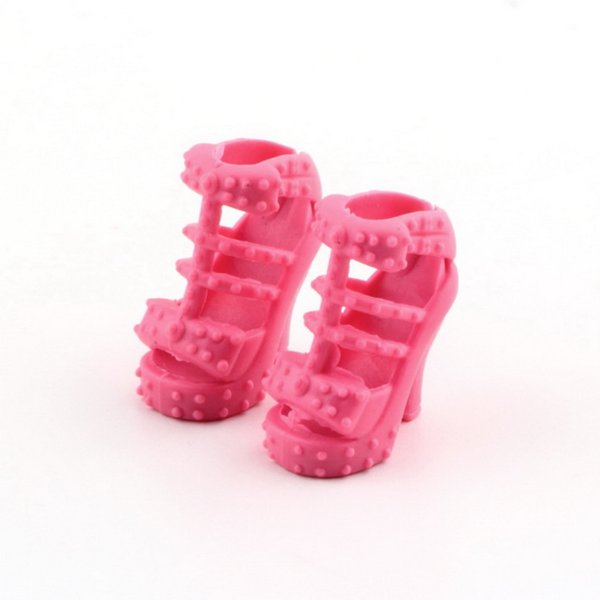 Hot! Fashion Colorful Assorted Shoes Different Styles Fashion 12 pairs Cute For Doll Best Gift Girl Baby Toys New Sale