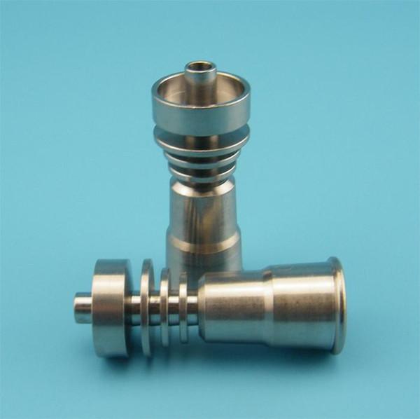 Free DHL,Good price New Domeless GR2 Titanium Nail Grade 2 Titanium Nail for Both 14&18mm Glass Bong Water Smoking Pipes