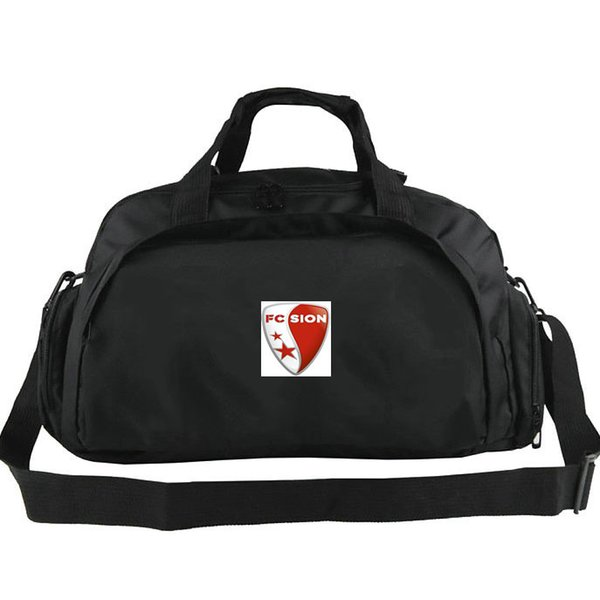 Sion duffel bags FC Stade Tourbillon club tote Football backpack Exercise luggage Soccer sport shoulder duffle Outdoor sling pack