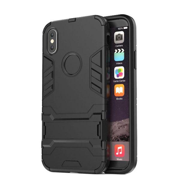 2018 neue Mode Iron Man Telefon Fall für IPhone X 7/8 7/8 P 6/6 s 6/6 sp 5/5 s / se Rüstung Unterstützung Schlank Schutz Durable Telefon Fall TPU PC