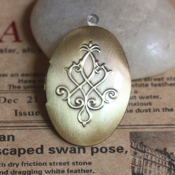 10pcs 25*38*9mm antique bronze handmade metal flower photo locket pendants for necklace vintage picture frame charm pendant wish box jewelry