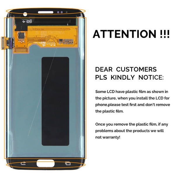 2018 Original Amoled 5 8 For Samsung S8 Lcd Display Touch Screen Digitizer  Replacement For Samsung Galaxy S8 With Frame Lcd Samsung S8 Lcd From