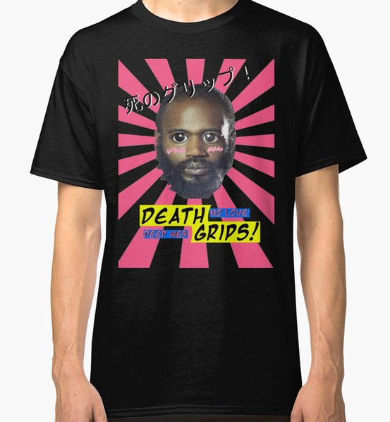 Design T Shirt Short Sleeve Printing O - Neck Mens Death Grips No Love Desu Web Men's Black Tees Shirt Clothing Shirt