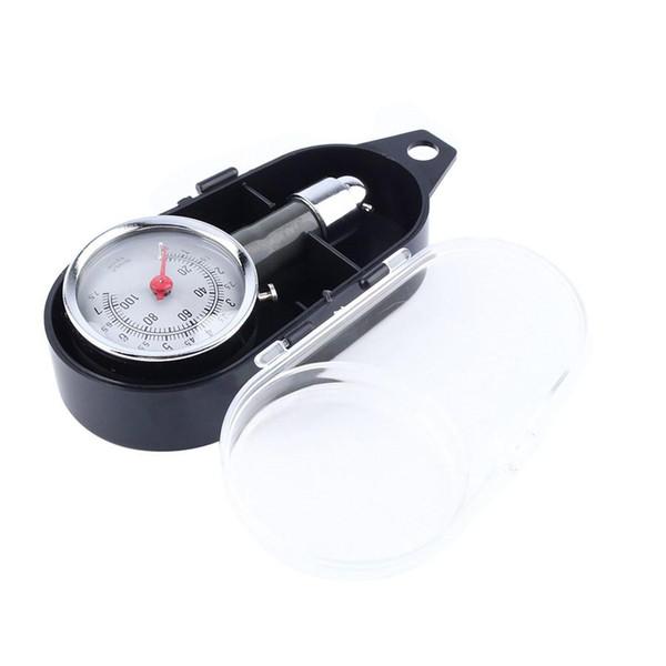 Metal Car Tire Pressure Gauge AUTO Air Pressure Meter Tester Diagnostic Tool Second Hand Car Repair Test High Precision