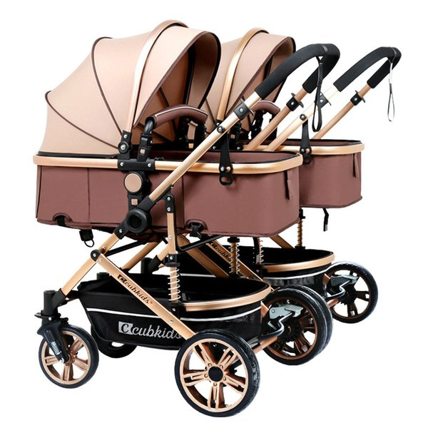 Disassembly Mutiple Infants and twins baby stroller double can split multiple Portable birth children can sit lie