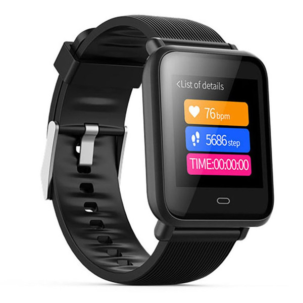 Q9 Big Screen Smart BraceletSport Fitness Tracker Heart Rate  Smart Wristband IP67 Smartwatch Men