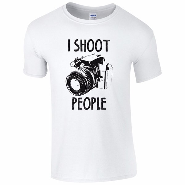 Summer Novelty Cartoon T Shirt Men'S Graphic Crew Neck Short-Sleeve Funny Photography Camera Pic Photographer Gift T Shirts