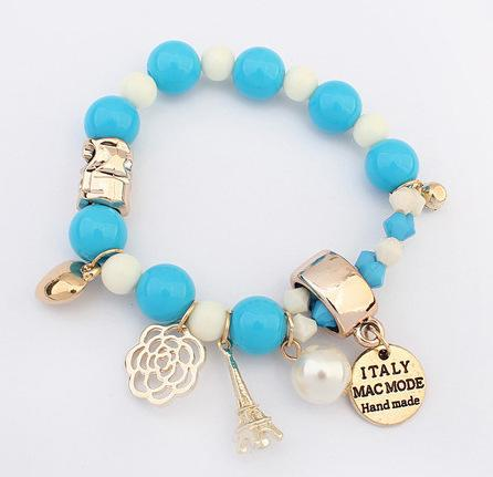 Bracelet Bangle for Women Men Fashion Jewelry Beads Crystal Real Pearl Bracelet Natural Beaded Charm Bracelets