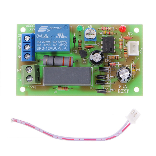 2019 AC 220V Trigger Delay Switch Turn On Off Board Timer Relay Module PLC  Adjustable From Burty, $37 66 | DHgate Com