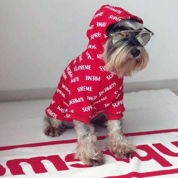 2019 SUP Pet Clothes Winter Warm Outwears Small Dog Sweater Cute Teddy  Puppy Schnauzer Apparel Winter Pug Clothing Red Color From Petdogddy,  $19.76