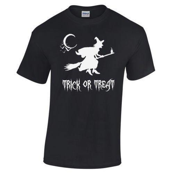 Sorcière сюр BALAIS ООН трюк или лечения Хэллоуин déguisement футболка ом