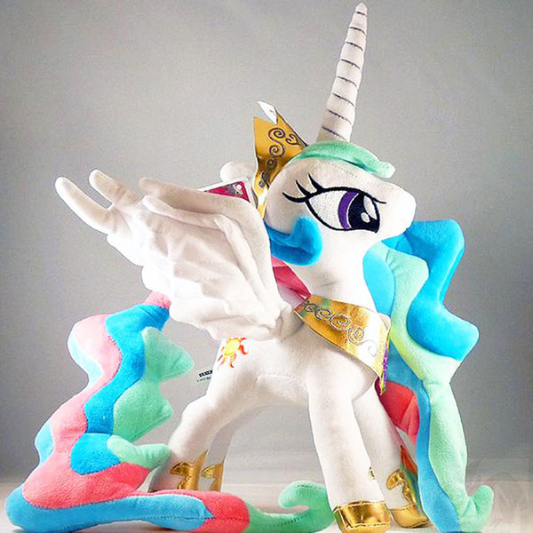 My Pet Little Doll Princess Celestia Plush Doll 12inches New Cotton Toy Action Figures