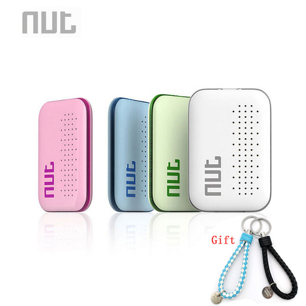Standortfinder Mutter Mini Smart Tag Bluetooth Schlüsselfinder Locator Sensor Alarm Anti Lost Wallet Haustier Kind Locator (Grün / Weiß /