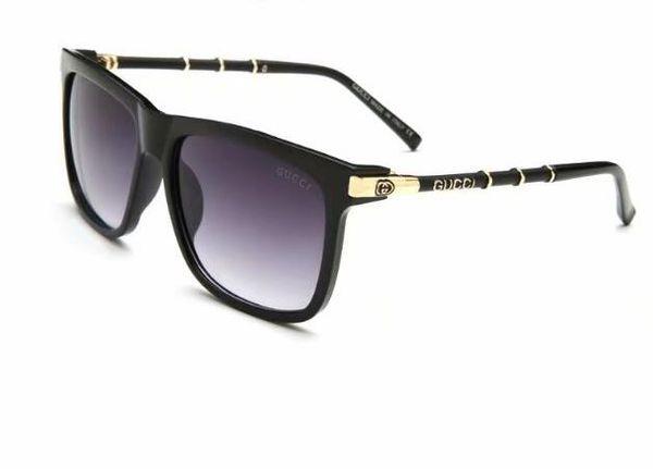 best selling Free ship fashion Luxury evidence sunglasses retro vintage men brand designer shiny gold frame laser logo women top quality with 4376
