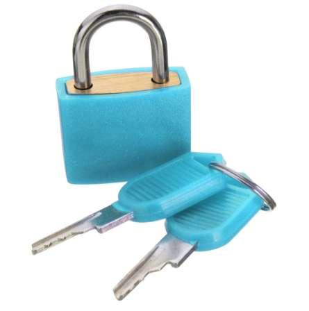 top popular 23mm Brass Padlock Travel Luggage Padlocks Lock 2021
