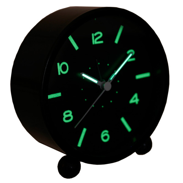 luminous small alarm clock quieten child bedside clock neon fashion Control LED display electronic desktop Digital table