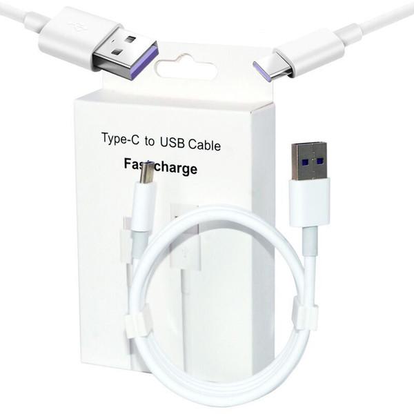 Cavo USB Caricabatterie 1M Tipo C Cavo Micro V8 Strong Linea dati ricarica per Samsung Galaxy S8 S9 Huawei Xiaomi