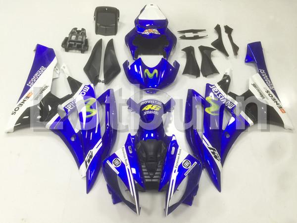 High Quality ABS Plastic Fit For Yamaha YZF600 YZF 600 R6 YZF-R6 2006 2007 06 07 Moto Custom Made Motorcycle Fairing Kit Bodywork