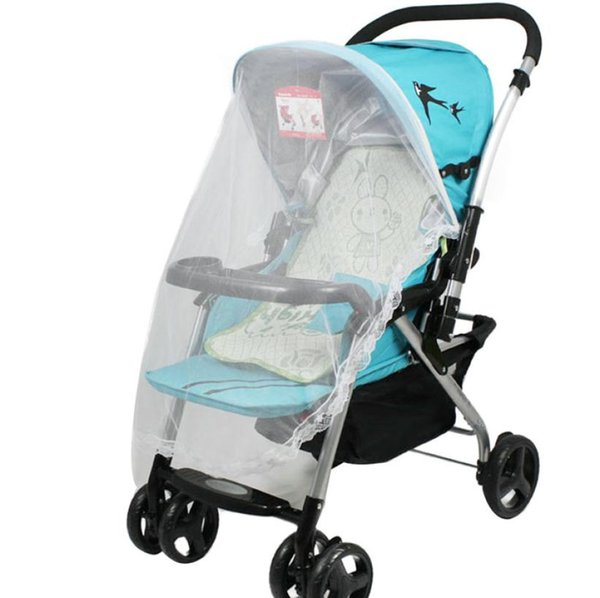 Hot Universal Lace Safe Baby Carriage Insect Mosquito Net Baby Stroller Bed Net