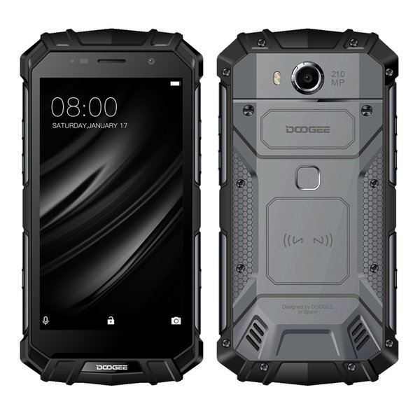 """Doogee S60 Octacore 6GB RAM 64GB ROM Android 7.0 Waterproof Wireless Charge Quick Charge Dual sim 5.2"""" Cell phone"""