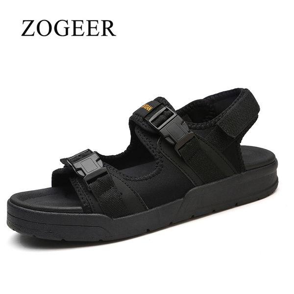 ZOGEER Fashion Men's Sandals, Size 35-45 Summer Couple Beach Shoes, 2018 Hot Sale Mens Beach Sandals