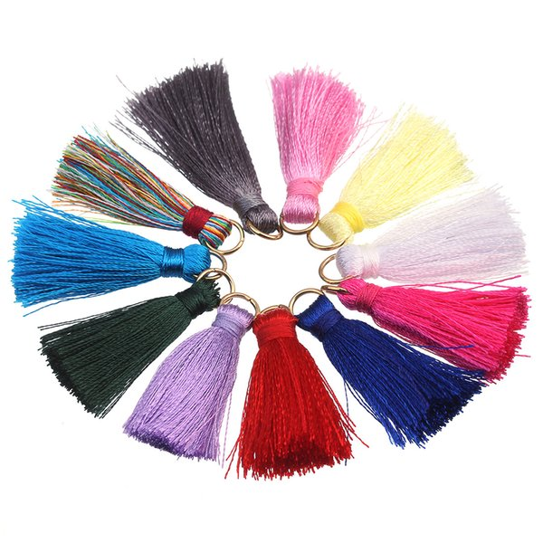 DIY Jewelry Accessories Mini Lap Hand-String Bead Special Cotton Thread Tassels Small With A Circle Lengt Support FBA Drop Shipping G991F