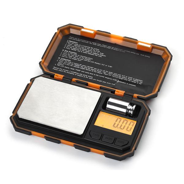 2018 nouvelle 200gx 0.01g numérique mini échelle de poche échelle de bijoux 0.01 haute précision balance professionnelle machine de poids de cuisine