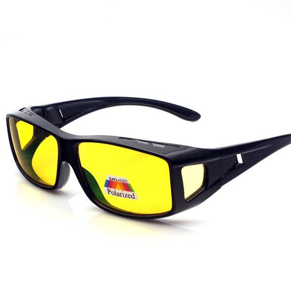2f80fc5ab13 Vazrobe Fit Over Glasses Frame Sunglasses Polarized Driving Men Women Night  Day Myopia Driver Anti Polar UV400
