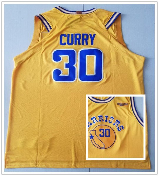 competitive price 6f922 815e2 2018 Men Youth Kids Sportswear 2019 City Edition 30 Stephen Curry Jerseys  The Town Black White Blue Yellow Stephen Curry Jersey Stitched Child From  ...