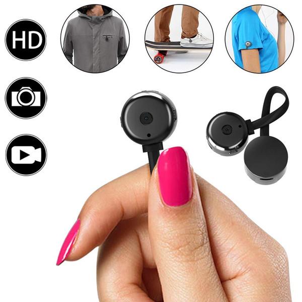 Mini-Kameras, HD 720P Kleinste Cam tragbare Videorekorder mit Motion Detective Perfekte Outdoor Covert Pocket Camcorder