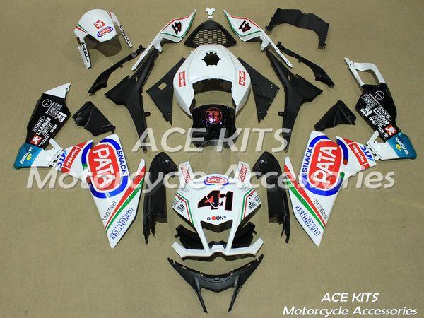 Aprilia RS4 için ACE Motosiklet Fuarı 50/125 2011 2012 2013 2014 2015 Sıkıştırma veya Enjeksiyon Karoseri Siyah Kırmızı No.609