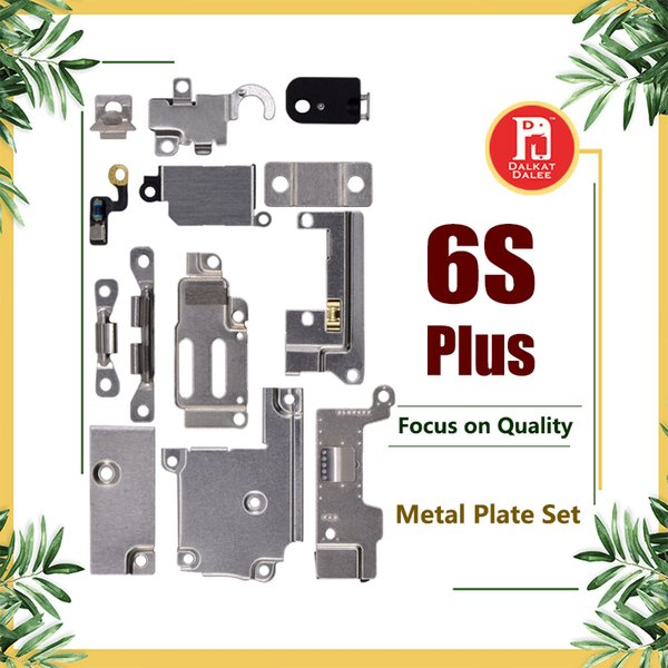 For iPhone 6S Plus Full Body Inner Small Holder Bracket Shield Plate For iPhone 6SP Metal Iron Body Parts Set Kit Phone Parts