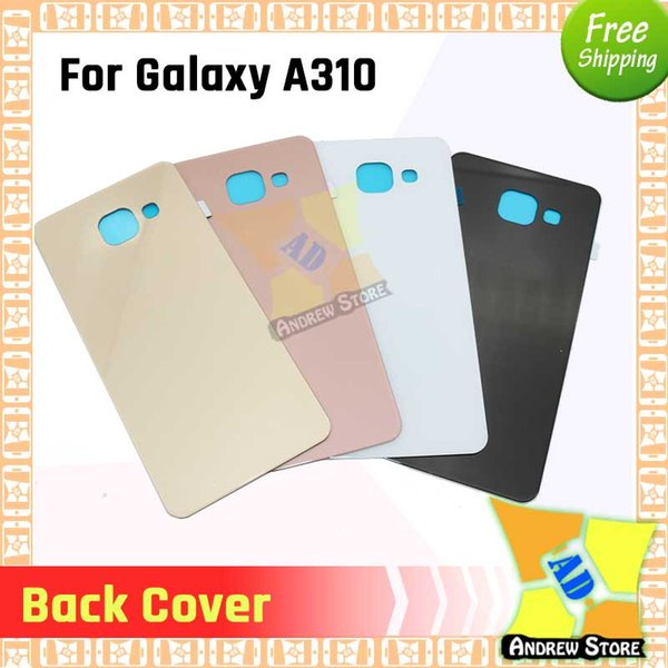 100pcs/lot Battery Door Back Housing Cover for Samsung Galaxy S3 S4 S5 NOTE 3 NOTE 4 J5 J7 A310 A510 A710 battery cover free shipping DHL