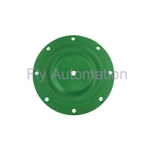 Ingersoll ARO Pro 90533-B 92973-B Fitted 666100-122-C 6661AF-322-C 6661AJ-3EB-C Yellow green Santoprene DN25 Pneumatic Pump Diaphragms