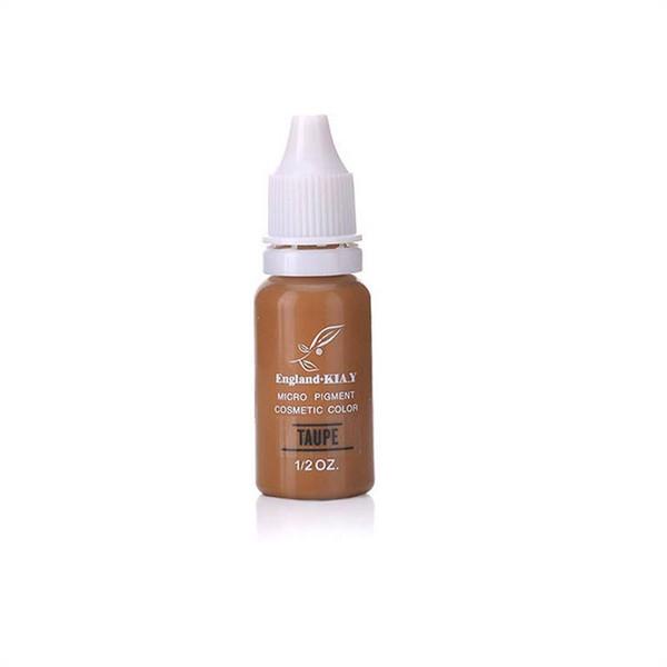 10 pezzi di trucco cosmetico permanente di inchiostro del tatuaggio kit micro pigmenti di colore 1/2 oz per trucco permanente sopracciglio Eyeliner labbra