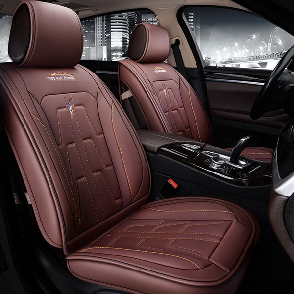 wholesale Leather seat cover four seasons Universal Car Seat Cushion for mazda 3 6 toyota RAV4 Hyundai volvo Lavida ford all sedan