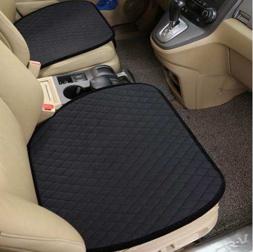 luxury Car Seat Protector Mat Auto Front Cushion Single Fit Most Vehicles Seat Covers Non-slip Keep Warm cover