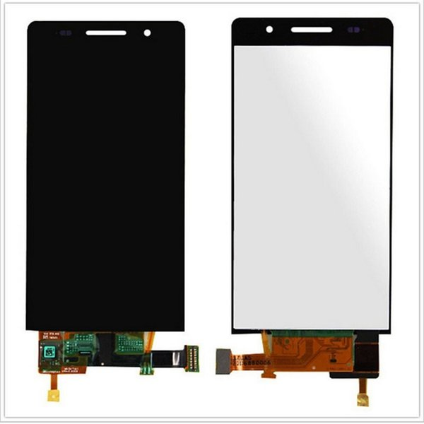 2018 Sale New White Touch Screen Digitizer Sensor Glass + Lcd Display Monitor Panel Assembly for Huawei Ascend P6 P6s P6-u06 C00 T00 S-u06