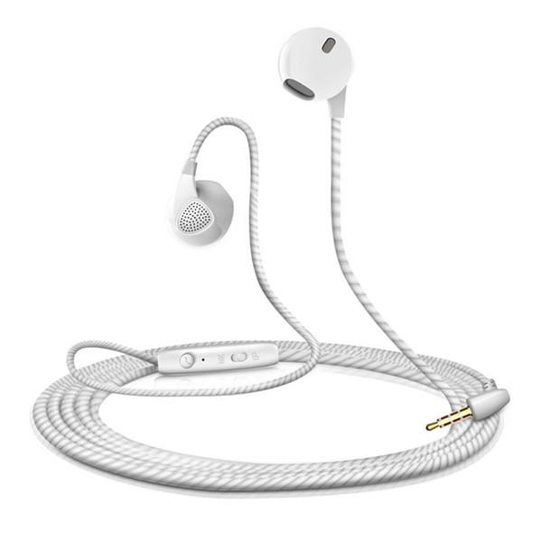 2018 Earphone For iPhone 6 6S 5 5S Headphones With Microphone 3.5mm Jack Bass Headset For apple Xiaomi sony Sport Headphones