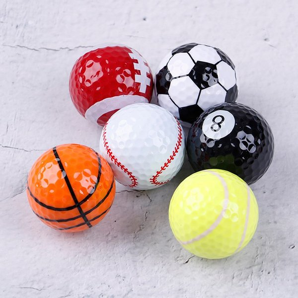 6PCS/Set Practice Golf Balls Professional Play Toy Indoor Outdoor Practice Training Aids Sports Balls Golf Accessories