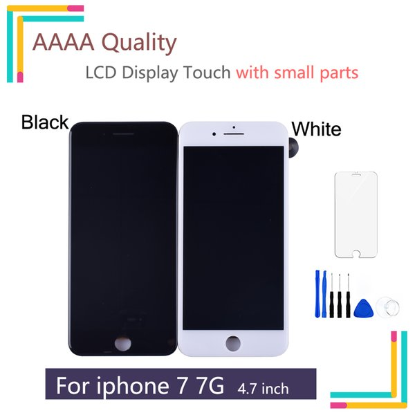 For iPhone 7 Screen LCD Display with 3D touch for iphone 7 Front Camera Proximity Sensor Ear Speaker Digitizer Touch Assembly