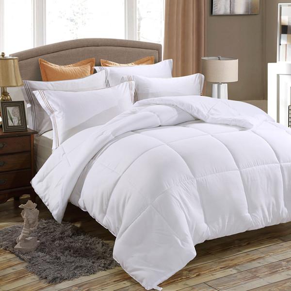 down alternative comforter, duvet insert, medium weight for all season, fluffy, warm, soft & hypoallergenic 50