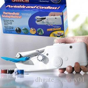 Mini Handheld Sewing Machine Portable Needlework Cordless Household Handy Stitch Electric Clothes Fabric Sewing Tools