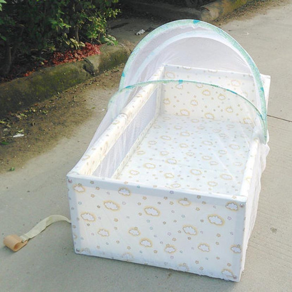 HOMEGD Universal Baby Cradle Bed Mosquito Nets Summer Baby Arched Mosquitos Net 18Mar19 Drop Ship