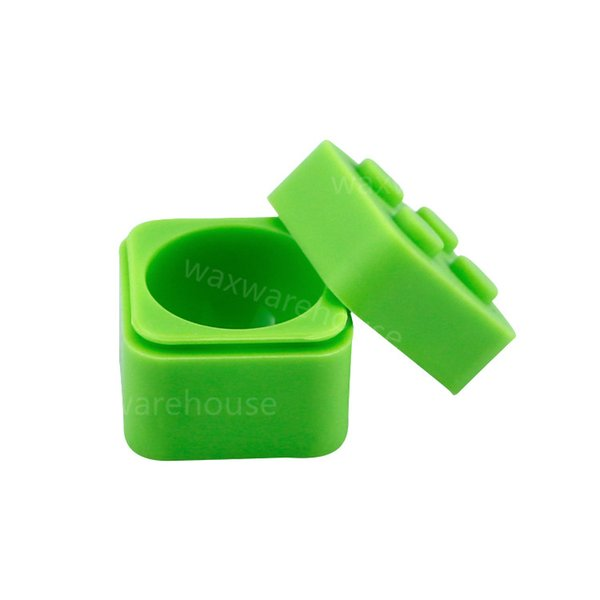 Factory wholesale cheap price 11ml non stick silicone wax container dab oil jar smoking herb holder storage box bottle for smoke shop