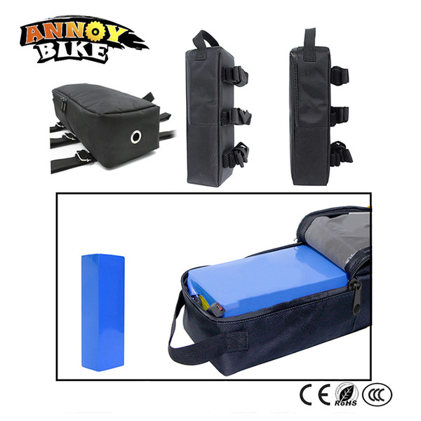 Electric Scooter Lithium Battery Bag Cloth Carry Tools E-bike Battery Portable Front Bag Tailor-made