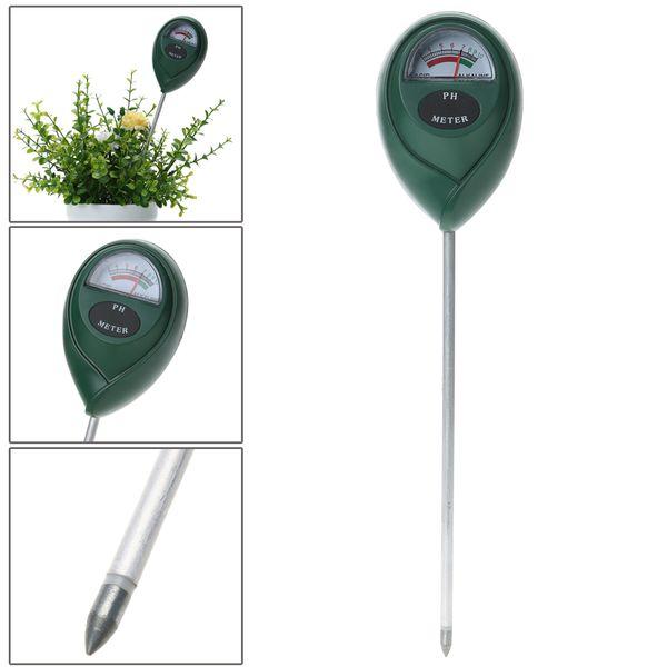 top popular Soil PH Meter Soil Moisture Meter PH Tester for Plants Crops Flowers Vegetable Solid Quality Measuring Instrument 2021
