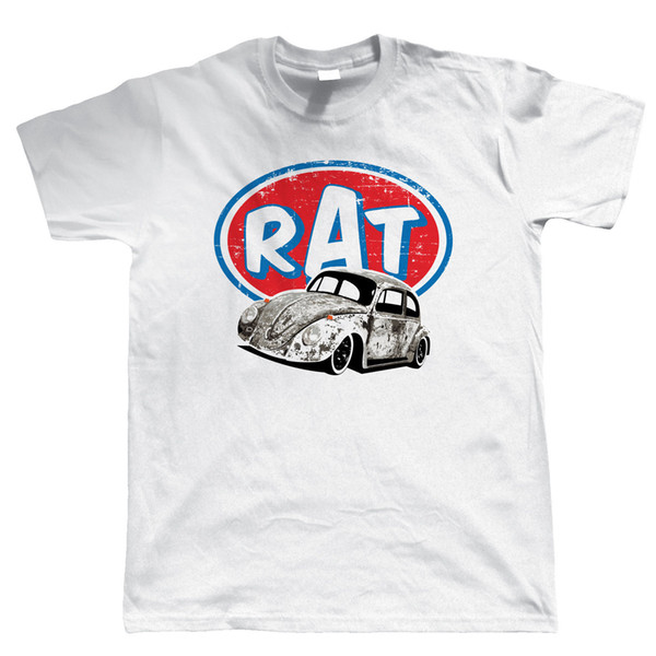 Details zu Vee Dub Rat Bug T-Shirt - Rat Look Hood Ride - Gift for Dad Casual Funny free shipping Unisex tee gift