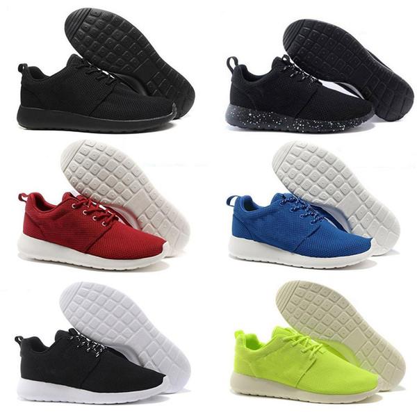 2018 New Run Men Women Zapatillas de running London Olympic Ros negro blanco rojo gris azul Zapatillas de deporte al aire libre Shoes us 5-11