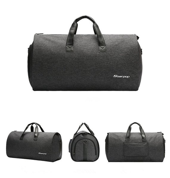 High Quality Men Business Bag Handbag Outdoor Travel Luggage Duffel Bag for Hiking Camping Suit Shoes Gym